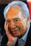 Shimon Peres - 9de President van Israël Stock Fotografie