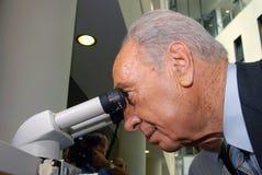 Shimon Peres - 9o presidente de Israel fotos de stock