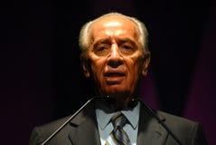 Shimon Peres - 9. Präsident von Israel Stockbilder