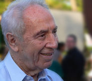 Shimon Peres President Stock Photo