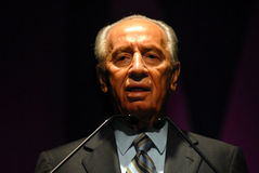 Shimon Peres - 9th President of Israel Stock Images