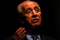 Shimon Peres - 9th President of Israel Royalty Free Stock Photography