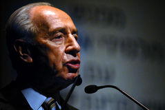 Shimon Peres - 9th President of Israel Royalty Free Stock Image