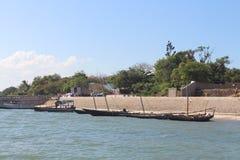 Shimoni海滩 库存图片