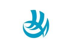 Shimonoseki city flag Stock Image