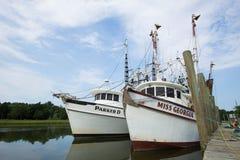 Shimp Boats stock images