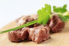 Shin beef Royalty Free Stock Images