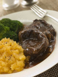 Shin of Beef Braised in Stout Stock Photos