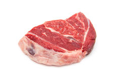 Shin of beef meat isolated on a white studio background, Royalty Free Stock Photos