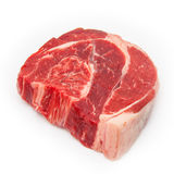 Shin of beef meat isolated on a white studio background, Royalty Free Stock Photo