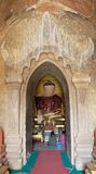Shin Izza Gawna Temple, Bagan, Mynamar Royalty Free Stock Photo