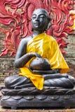 Shin Upagutta Statue in Thai temple Stock Photo
