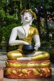 Shin Upagutta Statue in Wat Sri Don Moon , Chiangmai Thailand Stock Photography