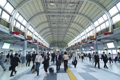 Shinagawa station Royalty Free Stock Image