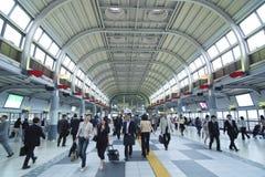 shinagawastation Royaltyfri Bild