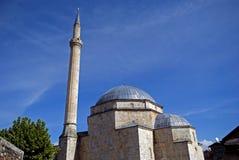 Shinan Pasha Mosque, Prizren, Kosovo image stock