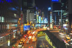 shinbashi Τόκιο της Ιαπωνίας Στοκ φωτογραφία με δικαίωμα ελεύθερης χρήσης