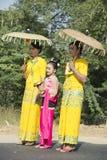 Shinbyu or novitiation ceremony Royalty Free Stock Photos