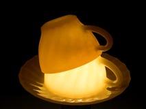 shine двойника чашек стоковое изображение rf
