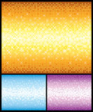 Shine backgrounds set. For design Royalty Free Stock Photo