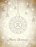 Shine Christmas Backgraund Royalty Free Stock Image