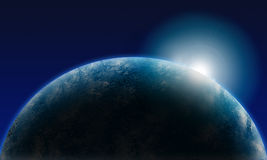 Shine earth Royalty Free Stock Image