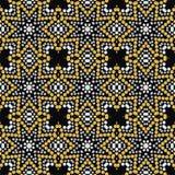 Shine fashion pattern from brilliant stones, rhinestones. Stock Photos