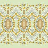 Shine fashion pattern from brilliant stones, rhinestones. Royalty Free Stock Photos