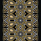 Shine fashion pattern from brilliant stones, rhinestones. Seamless east ornament can be used for fabric, pack, wrapping, wallpaper, texture, background Royalty Free Stock Photos