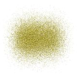Shine gold dust - vector. Shine gold dust - stock vector Stock Image