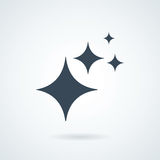 Shine. icon isolated sign symbol and flat style for app, web and digital design. Royalty Free Stock Photo