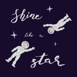 Shine like a star Royalty Free Stock Photos