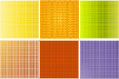 Shine patterns. Collection of shine pattern- vector Royalty Free Stock Photos
