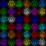 Shine peace pattern Stock Images