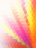Shine pink triangle and free form line mark wallpaper Royalty Free Stock Images