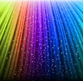 Shine rainbow background with stars. Vector. Illustration eps10 Royalty Free Stock Photos