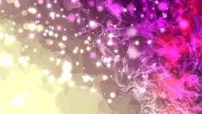 Shine sparkles pink brush strokes background. Stock Photos