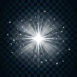 Shine star sparkle  Stock Photos