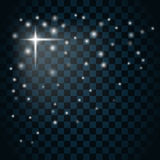 Shine star sparkle icon 3 Royalty Free Stock Images