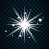 Shine star sparkle icon 11a Royalty Free Stock Images