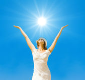 Shine on, summer sun Royalty Free Stock Photo
