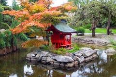 Shine and Torii in Tacoma, Washington, in fall season Royalty Free Stock Photo
