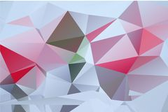 Shine triangulate low poly polygonal background theme Royalty Free Stock Photo