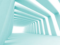 Shined corridor Royalty Free Stock Images