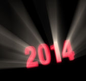 2014 Shines Bright Stock Photography