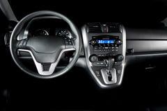 Shiney neuer Auto-Innenraum Lizenzfreie Stockbilder