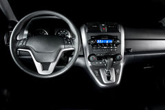 Shiney New Car Interior Royalty Free Stock Images