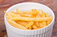 Shing-a-ling. Light brown fried noodles or philippine version of french fries aka shing-a-ling Royalty Free Stock Image