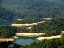 Shing Mun Reservoir. In Tsuen Wan Hong Kong Stock Image