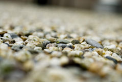 Shingle. Or gravel on a path royalty free stock photography